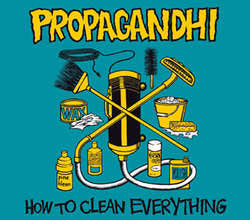 "Propagandhi ""How To Clean Everything: Anniversary Edition"" CD"