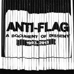 "Anti Flag ""A Document Of Dissent: 1993-2013"" CD"