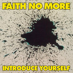 "Faith No More ""Introduce Yourself"" LP"
