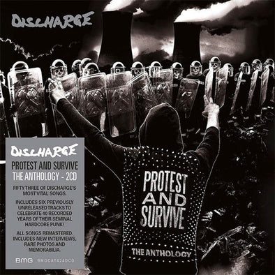 "Discharge ""Protest And Survive"" The Anthology"" CD"