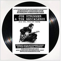 "Joe Strummer & The Mescaleros ""Live At Acton Town Hall"" LP"
