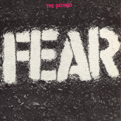 "Fear ""The Record' LP"