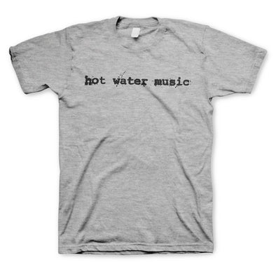 "Hot Water Music ""Traditional Gray"" T Shirt"