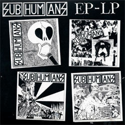 "Subhumans ""EP-LP"" CD"