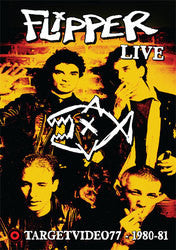 "Flipper ""Live: TargetVideo77 - 1980-81"" DVD"