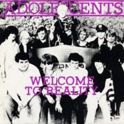 "Adolescents ""Welcome To Reality"" 10"""
