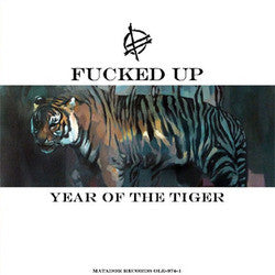 "Fucked Up ""Year Of TheTiger"" 12"