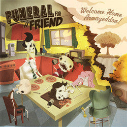 "Funeral For A Friend ""Welcome Home Armageddon"" CD"