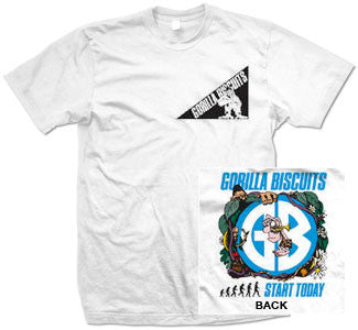 "Gorilla Biscuits ""Jungle"" T Shirt"