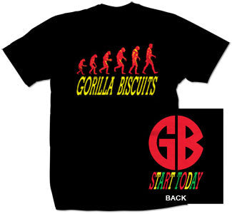 "Gorilla Biscuits ""Start Today"" T Shirt"