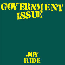 "Government Issue ""Joy Ride"" LP"