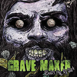 "Grave Maker ""Bury Me At Sea"" CD"