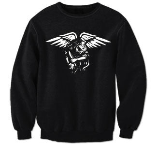 "Give Up The Ghost ""Angel"" Crew Neck Sweatshirt"