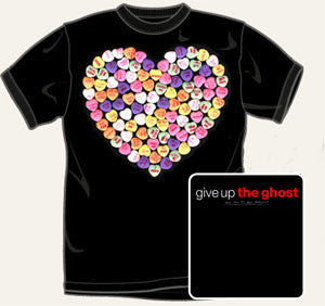 "Give Up The Ghost ""We're Down Til We're Underground"" T Shirt"