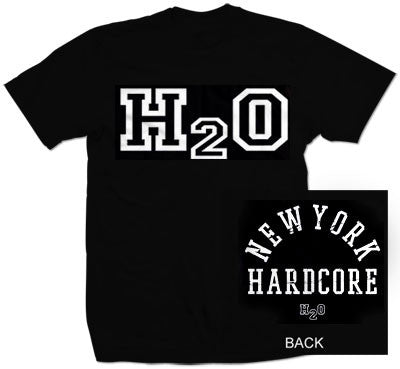 "H2O ""New York Hardcore"" T Shirt"