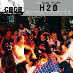 "H2O ""Live August 19, 2002 - The Bowery Collection"" CD"