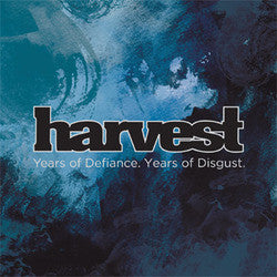 "Harvest ""Years Of Defiance. Years Of Disgust.""7"""