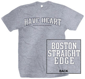 "Have Heart ""Boston Straight Edge"" T Shirt"