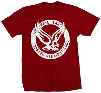 "Have Heart ""Eagle"" Red T Shirt"