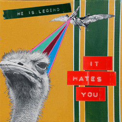 "He Is Legend ""It Hates You"" CD"