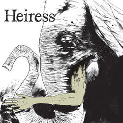 "Heiress ""Naysayer b/w Just Throats"" 7"""