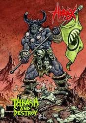 "Hirax ""Thrash And Destroy""DVD+CD"
