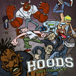 "Hoods ""Ghettoblaster"" CD"
