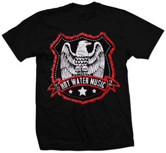 "Hot Water Music ""Eagle"" T Shirt"