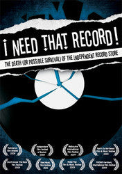 """I Need That Record!: The Death (Or Possible Survival)... DVD"
