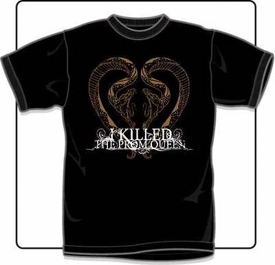I Killed The Prom Queen Snakes T Shirt