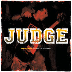 "Judge ""What It Meant, Complete Discography"" CD"