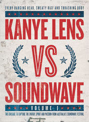 Kanye Lens Vs Soundwave Vol 1 Ltd Edition Book