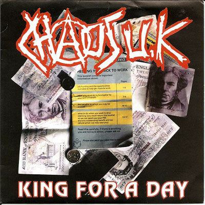 "Chaos UK ""King For A Day"" CD"