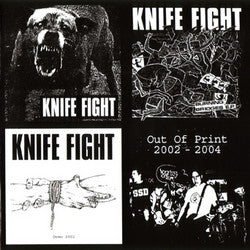 "Knife Fight ""Out Of Print 2002 - 2004"" CD"