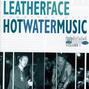 "Hot Water Music / Leatherface ""Split"" CD"