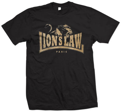 "Lion's Law ""Paris"" T Shirt"