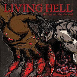 "Living Hell ""The Lost And The Damned"" LP"