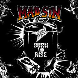 "Mad Sin ""Burn And Rise"" CD"