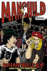 """Manchild 5: Rabid Pack With Sirens Howling"" Brian Walsby Book"