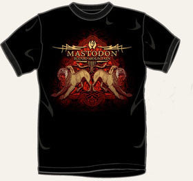 Mastodon Lion T Shirt