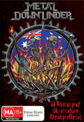"Various Artists ""Metal Down Under"" DVD"