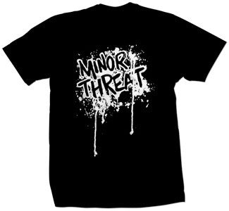 "Minor Threat ""Drip"" T Shirt"