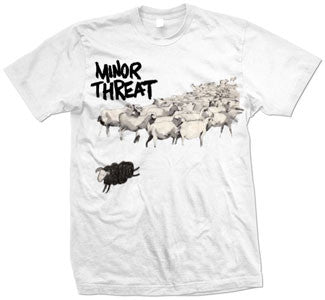 "Minor Threat ""Out Of Step 2"" T Shirt"