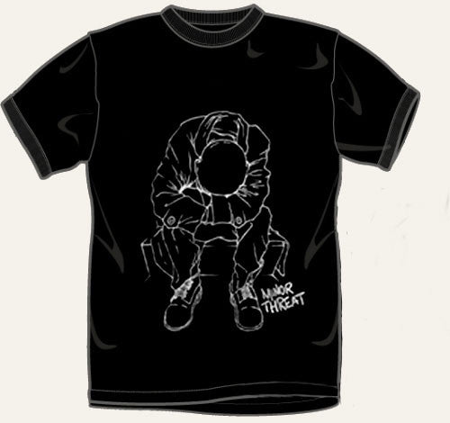 "Minor Threat ""Outline"" T Shirt"