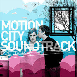 "Motion City Soundtrack ""Even If It Kills Me"" CD"