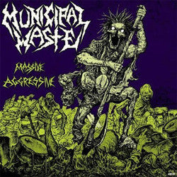 "Municipal Waste ""Massive Aggresive"" CD"