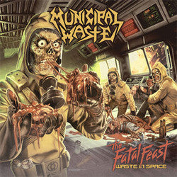 "Municipal Waste ""The Fatal Feast Waste In Space"" Cassette"