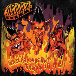 "Nekromantix ""What Happens In Hell, Stays In Hell"" LP"