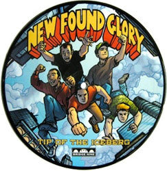"New Found Glory ""Tip Of The Iceberg"" 7"" Picture Disc"