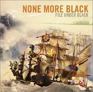 "None More Black ""File Under Black"" CD"
